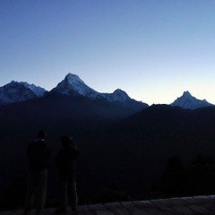 "Trek - Poon hill, 5:00 am - Sunrise • <a style=""font-size:0.8em;"" href=""http://www.flickr.com/photos/127467392@N07/15818823007/"" target=""_blank"">View on Flickr</a>"