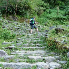 "Trek - 3000 stone stairs • <a style=""font-size:0.8em;"" href=""http://www.flickr.com/photos/127467392@N07/15382340514/"" target=""_blank"">View on Flickr</a>"