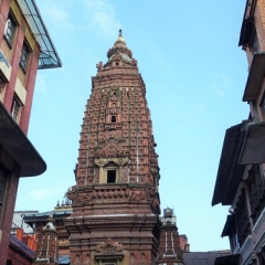 "Patan - Boudha temple • <a style=""font-size:0.8em;"" href=""http://www.flickr.com/photos/127467392@N07/15818895937/"" target=""_blank"">View on Flickr</a>"