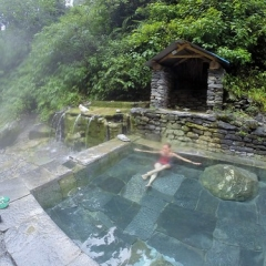 "Trek - Jinhu Danda Hot Spring • <a style=""font-size:0.8em;"" href=""http://www.flickr.com/photos/127467392@N07/15818548729/"" target=""_blank"">View on Flickr</a>"