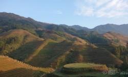 dazai, rizières, longji, dos du dragon, randonnée, chine