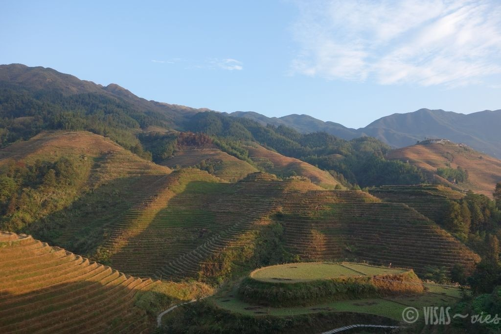 Dazai, rizière de Longji, dos du dragon, Chine terrasses 1