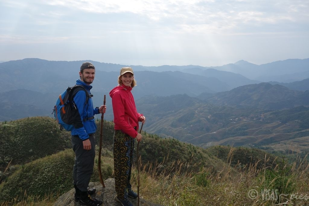 Dazai, rizière de Longji, dos du dragon, Chine terrasses randonnée