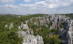 Shlin, forêt de pierres, chine