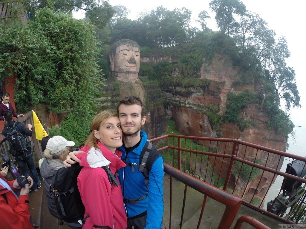 buddha géant Leshan Chine 2