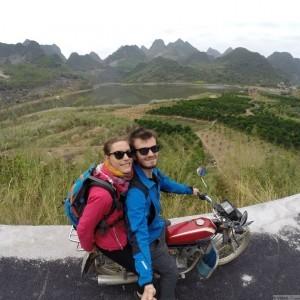 montagnes karstiques guilin xingping ballade moto 2