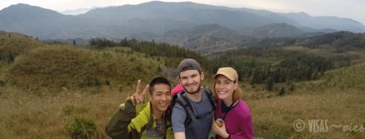 Dazai, rizière de Longji, dos du dragon, Chine terrasses randonnée 3