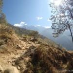 gorges du saut du tigre, randonnée, éprouvants, magnifique, montée
