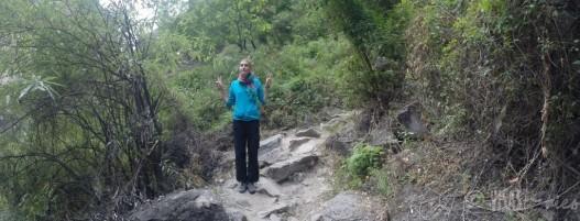 Gorges du saut du tigre - Anaïs