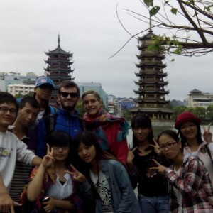 pagodes guilin 2