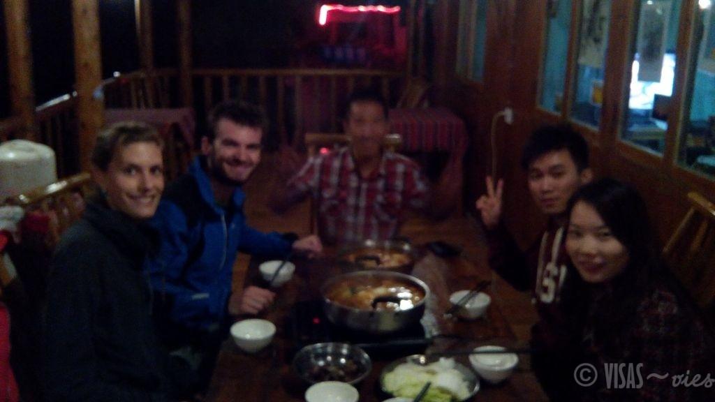 Dazai, rizière de Longji, dos du dragon, Chine hot pot