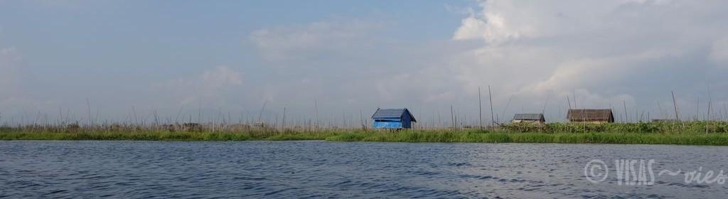 Lac-inle-maison-bleue