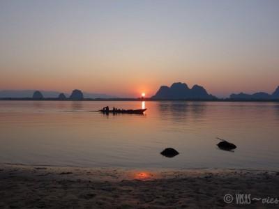 Mawlamyine-HpaAn-visasvies-coucher-soleil-bateau
