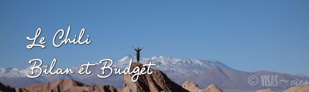 Le Chili – Bilan et Budget pour 21j au Nord