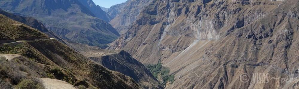 Le canyon del Colca – Trekking en autonomie sans guide